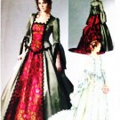 Historical Top, Skirt  Detachable Train Bustle  Costume McCalls M6097 Pattern Sz 14 to 20 Uncut