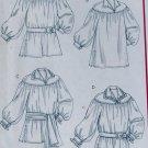 McCalls M4862 Unisex Poet Shirt & Sash Pattern, Sz S To L, Uncut