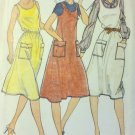 Easy Vintage Butterick 3616 Misses Jumper  Dress Pattern, Size 12, UNCUT