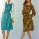Easy Vintage Butterick 3964 Misses Jumper or  Dress Pattern, Size 12, UNCUT