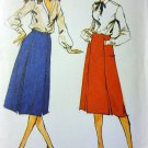 Vintage Butterick 6920 Misses A line Skirt  Pattern, Size 14, UNCUT