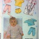 Vintage Simplicity 8968, Babies  Knit wardrobe Pattern, Size 6 mo UNCUT  FFs