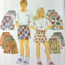 OOP So Easy Unisex Shorts * Simplicity 9052 pattern Size 7 8 10 12 14, UNCUT