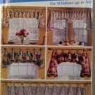 Easy Window Treatments Can Tops & Jacots Simplicity 0676 Patterns , All Sizes, Uncut