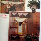 OOP Simplicity7914 Christmas pattern HOLIDAY Christmas DECOR Leslie Beck uncut