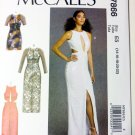 Misses Dress Gown Pattern  McCalls M7866 Pattern Size 14 To 22, Uncut