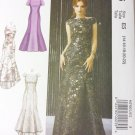 Misses Dress Gown Pattern  McCalls M7865 Pattern Size 14 To 22, Uncut