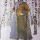 Misses Jacket Skirt Cape  McCalls M7855 Pattern Costume Size 14 To 22, Uncut
