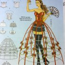 Misses Corset Panties Hoop Skirt Costume McCalls M7306 Pattern, Size 14 To 22, Uncut