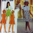 OOP Simplicity 8168 Pattern, Easy Girls Dress,  Size 7 8 10, Uncut FF