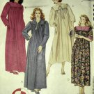 Misses Robe in Two Lengths McCall's 6852 Pattern, Size Sm Med Lg,  UNCUT