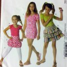 Childs Tops, Dress, Skirts Leggings: McCalls M6276 Sewing Pattern, Size 3 4 5 6, Uncut