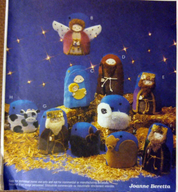 Oh Holy Night Nativity Scene  Wall Hanging McCalls 2996 Uncut, UNCUT