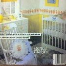 OOP McCalls 8917 Baby Room Stencil Magic Pattern, Uncut
