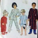 Simplicity 8493 Pattern Child's Sleepwear SizeBB 3,4,5,6, Uncut