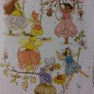 McCalls M4887 Children's/Girls' Fairy Costumes Pattern, Size 6 7 8, Uncut