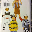Butterick 3244 Child Girls' Boy  space + Costumes Pattern, Size 2 to 5, Uncut
