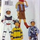 Butterick 3244 Child Girls' Boy  space + Costumes Pattern, Size 6 7 8, Uncut