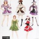 Costume Simplicity 4046 Fairy Mrs Santa  + Pattern Sz 14 to 20 Uncut