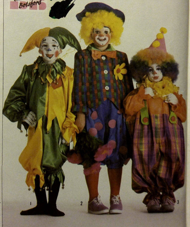 1985 Simplicity 7120 Child Girls' Boy  space + Costumes Pattern, Size 6 - 8, Uncut