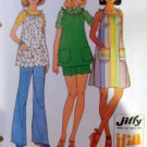 Simplicity 7551 Maternity Jiffy Misses' Dress or Top & Pants or Shorts, Pattern, Size 16, Uncut