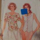 Simplicity 9012 Misses' Top, Blouse Pattern, Size 8 to 18, Uncut