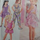 OOP Easy Simplicity 7779 Girls Romper and Dress, Size 2, 3, 4, Uncut