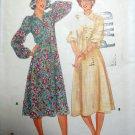 vintage Misses Dress Butterick 8971 Pattern, Size 8  Uncut