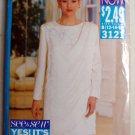 Misses Top & Skirt Butterick 3121 Pattern 12 14 16, Uncut