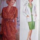 OOP Simplicity 4710 Misses Dress & Jacket Sewing Pattern, Sz 14 16 18, Uncut