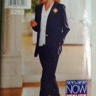 Easy Misses Jacket, Blouse Top and Pants Butterick 3293 Pattern 12 14 16, Uncut