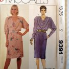 Misses' Dress pullover   9391 MCcalls Pattern, Small 10, UNCUT ff's