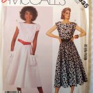 Misses' Dress pullover  2335 MCcalls Pattern, Small 10, UNCUT ff's