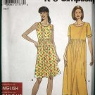 OOP Simplicity 8190 so easy Pattern, Misses' knit  Dress Pattern, Plus Size XS, to  XL, UNCUT
