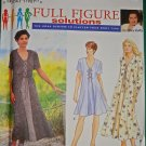 Woman's Dress Simplicity 9536 Pattern,  Plus Size 18W to 24W,  UNCUT