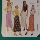 McCalls 8622 Misses  2 hour Skirt 2 lengths Pattern, Size  14 16 18, Uncut