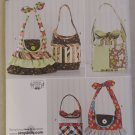Simplicity 2169 Sewing Pattern TWomen's Purses and Bags in 4 Looks ,  Uncut