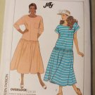 Misses Jiffy Dress Simplicity 9043 Pattern, Size Small 10 12, UNCUT