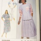 Misses Easy Top Skirt, Pants  Simplicity 9113 Pattern, Size Small 10 12, UNCUT