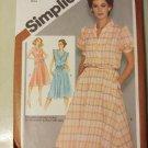 Simplicity 9867  Misses Petite  Pullover Dress Pattern,  Size 14, UNCUT
