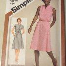 Simplicity 9905  Misses Petite  Pullover Dress Pattern,  Size 14, UNCUT