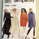 Easy Simplicity 7994 Misses Loose-fitting Dress  Pattern,  Plus Size Lg Xl, UNCUT