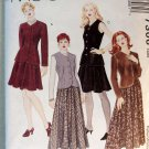 McCalls 7306 Pattern, Lined Jacket, Lined Vest and Skirt Size 8, 10, 12,    Uncut
