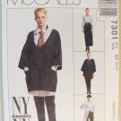 Easy McCalls 7301 Misses  Tunic Shirt Skirt & Pants  Pattern, Sz 4, 6, 8, Uncut