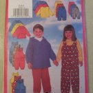 Easy Butterick 5164 Pattern Toddlers Top Jumpsuit Pants , Size 2, 3, 4, Uncut