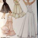 Misses Lingerie Petticoat and Corset Simplicity 5006 Pattern, Plus Sz 16 To 12, Uncut