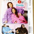 Easy  McCalls  M5970 Pattern,Comfy Blanket in Three lengths  UNCUT