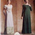 Simplicity 4055 Misses Circa 1795-1825 Dresses Costume Pattern, Size 6 8 10 12, Uncut