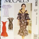 Miiss close fit Cold shoulder Dress  McCalls 7835 Pattern, Plus Size 14 To 22, Uncut