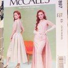 Miiss  Pattern Pullover dress's Circa 1955   McCalls 7895 Pattern, Plus Size 14 To 22, Uncut